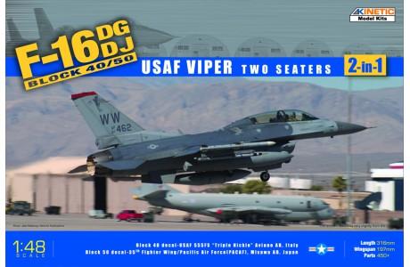 1/48 F-16D Block 50 - USAF Viper