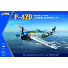 1/24 P-47D BUBBLE TOP