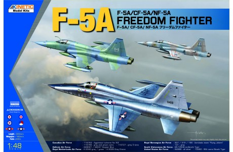 1/48 F-5A FREEDOM FIGHTER II (CF-5A,NF-5A INCLUDED)