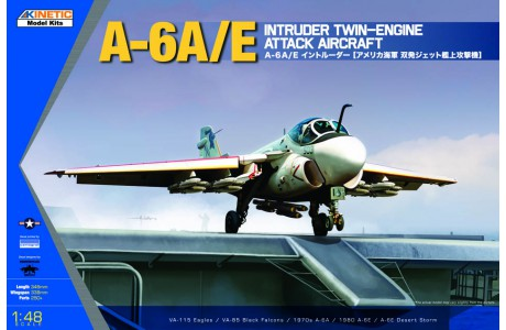 1/48 A-6A/E INTRUDER (METAL WING)