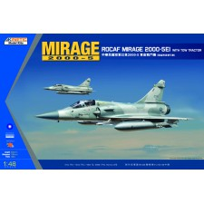 1/48 MIRAGE 2000C ROCAF W/ TOW TRACTOR