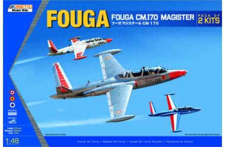 1/48 FOUGER MAISTER.170  (DUAL KITS)