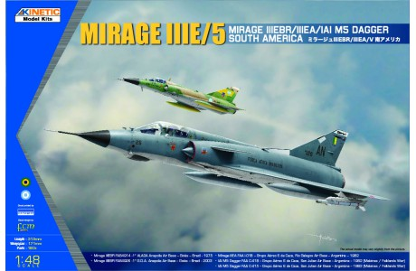 1/48 SOUTH AMERICAN MIRAGE III/V DAGGER/FINGER