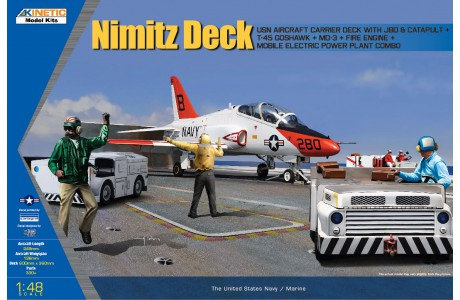 1/48 T-45 GOSHAWK W/ JBD, MD-3 AND FIRE ENGINE