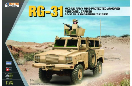 1/35 RG-31 MK3 Charger for US ARMY